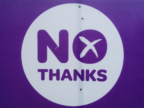 No poster, Stirling, 18 September 2014